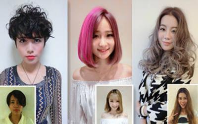 原來女孩髮型前後差異對比也可以差這麼大! 效果太驚人了!