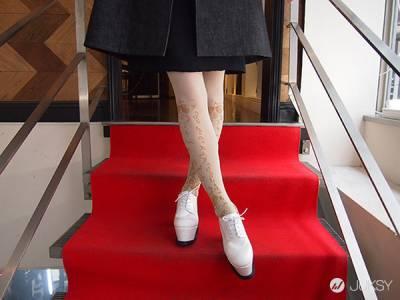 「東京時尚穿著」 穿著英倫風成為寒冬中的淑女吧