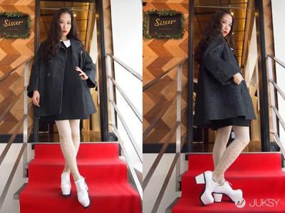 「東京創意穿著」 穿著英倫風成為寒冬中的淑女吧
