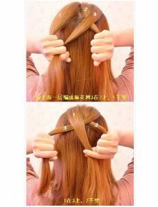 長發這麼扎,美到沒朋友!34款長發髮型詳細教程!!(下