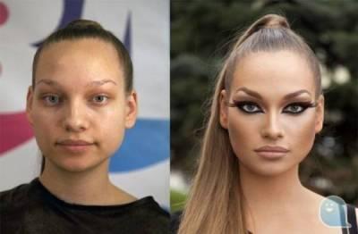 俄羅斯化妝達人,比明星更像明星