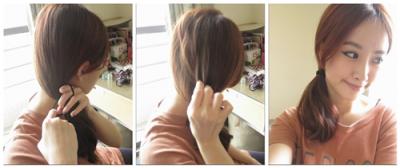 韓星最愛8種髮型,一分鐘速成!手殘女也會