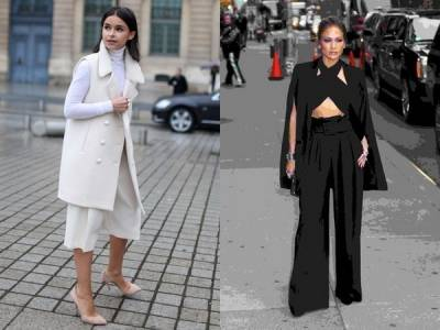 寬管褲從T台夯到街拍 寬管褲怎麼穿會顯瘦?