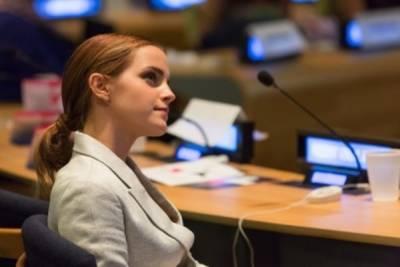 2015 年艾瑪華森(Emma Watson 再度拿起麥克風強大「性別平等」對話 也再次讓所有人鼓掌叫好!
