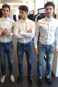 會穿白襯衫的男人,都是帥哥!