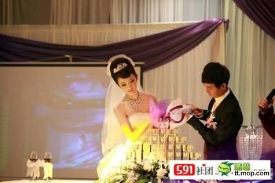 世紀豪門大婚禮,太豪華了!而且新娘超正!萬人點閱,萬人分享,必點必看必分享