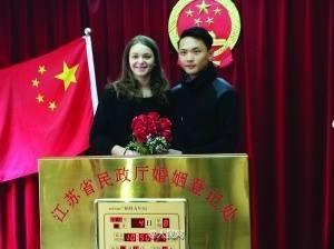 法國姑娘倒追中國美男子,她還表明不要車不要房,只想要嫁給他!到底是有多帥?