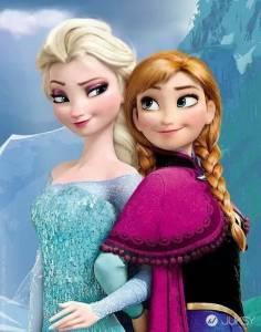 「冰雪奇緣」姊妹百變造型 證明了老話一句:人正真好