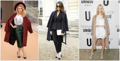 7個時尚名人披外套的原因