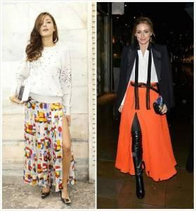 四款超夯開衩裙 讓你在冬天一樣性感又有型