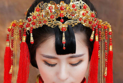 ☀ 你不知道中式婚禮有多美?鳳冠霞帔,洞房花燭.....
