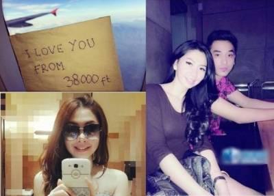 亞航20歲美貌空姐遺體尋獲!!生前留言心愛男友:在3萬英呎愛你…