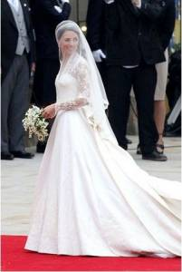 盤點全球10大最經典的婚紗禮服