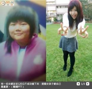 【勵志】120公斤胖妹變正妹 愛自己最重要