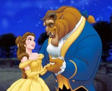 美女為什麼選野獸男人做老公?