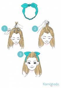 日本插畫圖解 9 個瀏海整理方法 陪妳度過瀏海過渡期