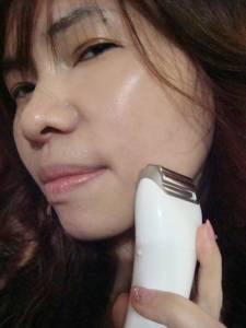 Panasonic溫感美容按摩器 可換式雙滾輪 讓妳能小顏兼美形的居家專屬美容師