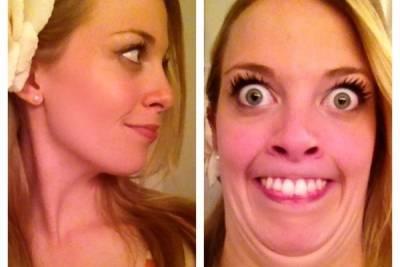 自拍就是要抓角度!27 位美麗女孩教你一秒變醜女