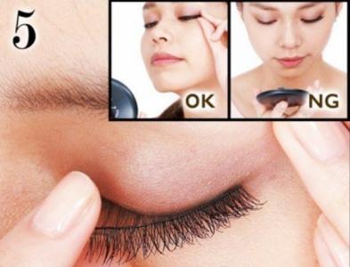 假睫毛的正確貼法圖解!你假睫毛貼錯了媽?