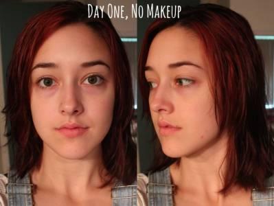 濃妝 淡妝 素顏真的有差嗎?女大學生化了三種不同的妝容,測試男生的反應,得到的結果很酷