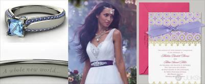 實現女孩們小時候的夢想 讓妳也成為迪士尼公主電影中的夢幻新娘
