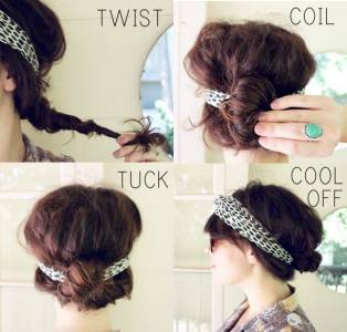 5 分鐘內能搞定的髮型 趕著出門的女生必備技巧