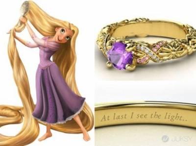 美麗的童話系戒指 一圓妳的公主夢