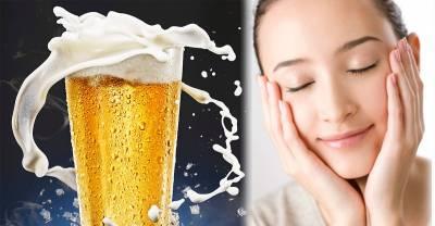什麼 啤酒居然可以hold住肌膚年齡 以後喝不完的啤酒都不倒掉了 試了幾種真的很有效