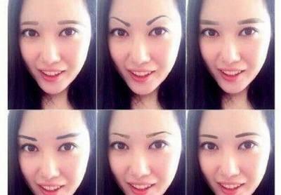 對女人來說,眉毛就是門面,比胸部大小更加重要!各種眉毛適合這樣的臉型!!!