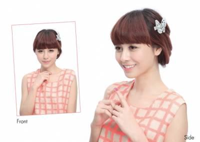 Popu Lady宇珊×春天浪漫髮飾,一秒鐘變有型 !│美周報
