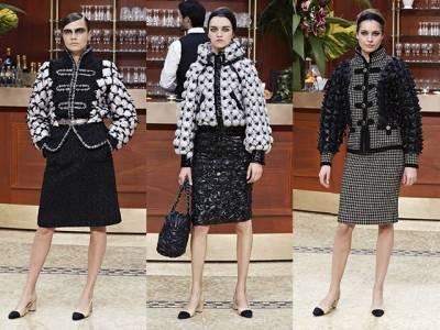 2015秋冬時裝周-Chanel Gabrielle小酒館