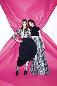 許瑋甯X簡嫚書 演藝潛力新星 演繹新生代時裝創意│ELLE 她雜誌