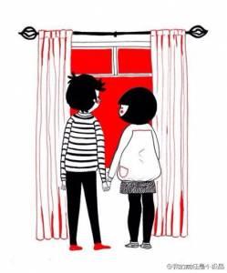【戀人專區】人氣插畫:兩人世界的微妙生活