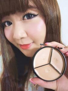 【彩妝】婕洛妮絲 完美三色遮瑕盤~一盤打造完美無瑕肌!