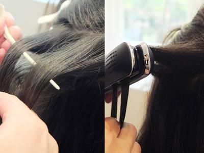 孔孝真歐逆的波希微捲髮怎麼弄 靠一根平板夾5步驟搞定!│美麗佳人Marie Claire