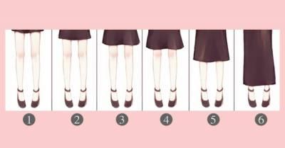 5種裙長5種女人:裙子的長短要根據它來決定!每個人都該學著點!