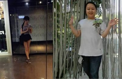 超勵志!樹人家商E奶妹靠運動瘦50公斤 網友:是同一個人你們相信嗎?