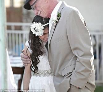 一名癌末父親提前送給女兒一場最珍貴的生日禮物 請先準備好衛生紙 ~