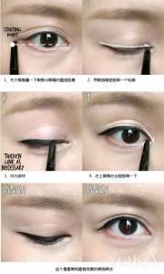 只要簡單幾個步驟,立刻打造韓星妝容!台灣的美眉畫完絕對更魅惑迷人!