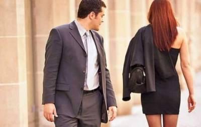 男人看女人視線分佈圖,他們更喜歡看女人哪裡