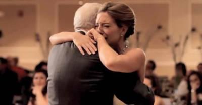 一個從不在公開場合說話的爸爸,在女兒婚禮說了這番話後,差點讓女婿做了這個決定...