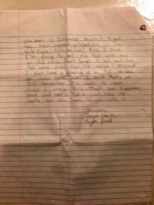 12歲女孩去世後,她爸媽發現她寫給未來的自己的信