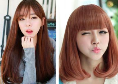 髮量多女生別再天天直發了,剪個這樣的髮型美翻了!