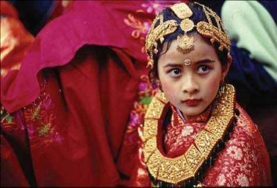 【尼泊爾活女神】年紀小小必須擁有超出常人的冷靜和無畏