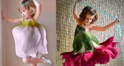 超夢幻!設計師為小女孩量身打造花朵裙...網友爭相搶問哪裡買得到...真相竟然是