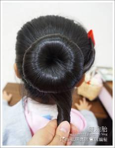 詢問度破表!胖胖有造型的【韓式丸子頭】精彩教學....高高的辮子造型包頭更俏麗!家中有女寶的肯定要收藏.....