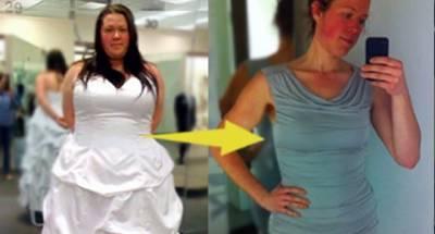 超震驚 她因為一張肥胖的婚紗照開始瘦身!減掉72公斤後,竟然發現.. 愛美女性都要看!