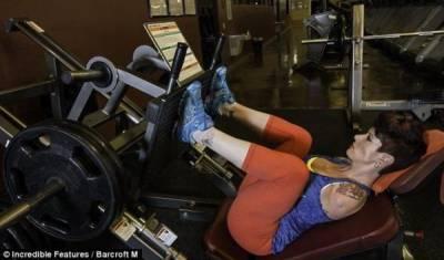 美國39歲無臂母親參加健美大賽!! 幫這位媽媽加油!!