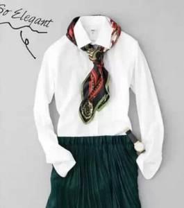 教你一件白襯衫的18種不同穿法,明星名模都這樣穿…