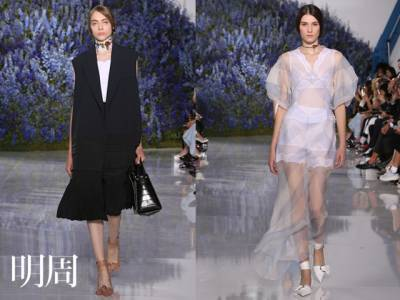 Raf Simons告別作Dior打造淡雅之美